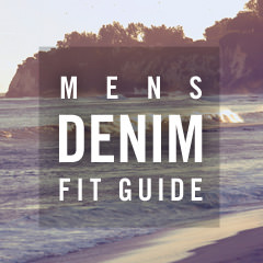 men's denim fit guide