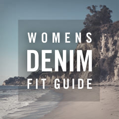 women's denim fit guide